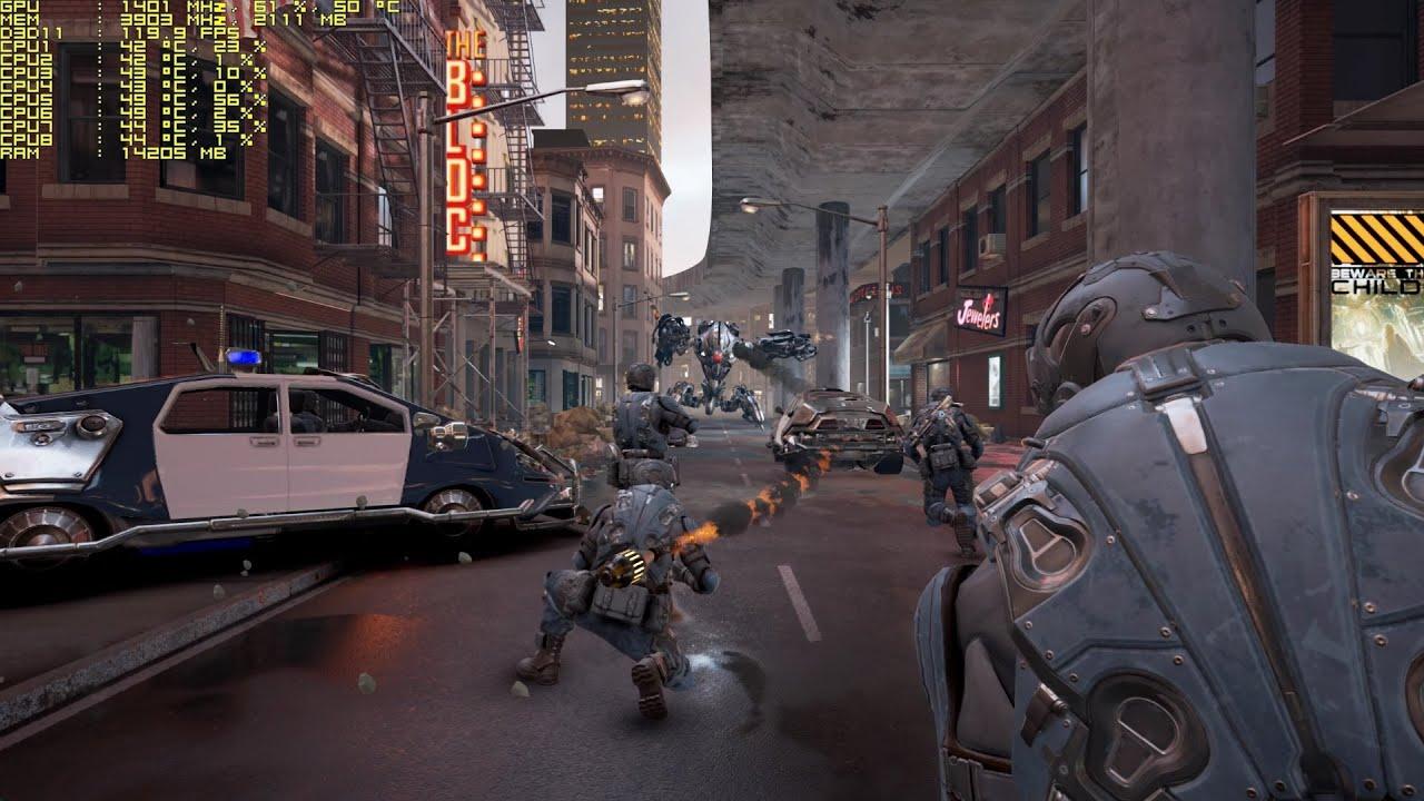 Unreal Engine 4 4 9 Showdown Cinematic Vr Demo By Epic