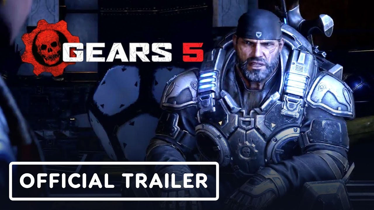 Gears 5 - Offizieller Story-Trailer - Gamescom 2019 + video