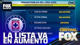 Liga MX: Más transferibles en Cruz Azul