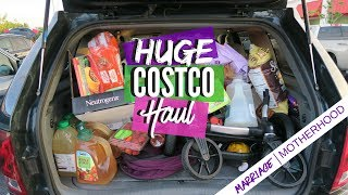 HUGE COSTCO HAUL | June Grocery Haul | Marriage & Motherhood