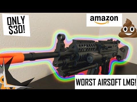 WORST $30 Airsoft LMG Ever Made! | UKARMS  P1046