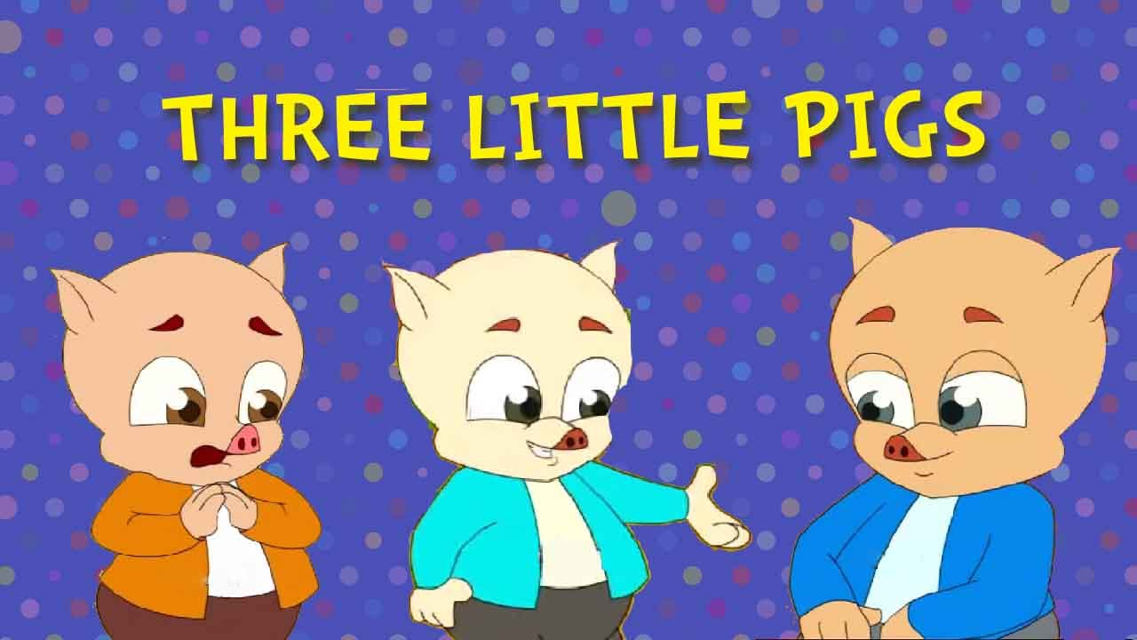 Uncategorized The Three Little Pigs Story For Children three little pigs and the big bad wolf fairy tales animated cartoon stories for children