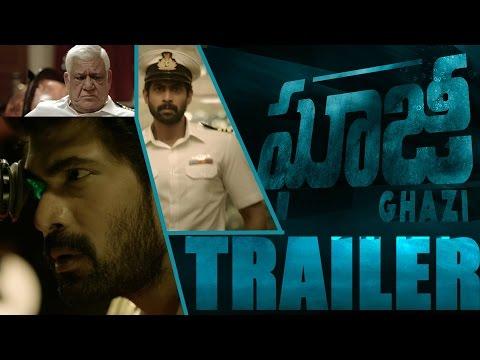 Ghazi Theatrical Trailer    Telugu    Rana Daggubati    Taapsee    Om Puri    PVP Cinema    #Ghazi