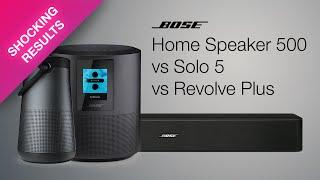 BOSE HOME SPEAKER 500 v/s SOLO…