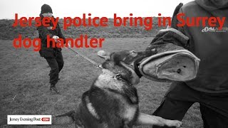 Jersey Police Bring In Surrey Dog Handler To Help With Dog Training
