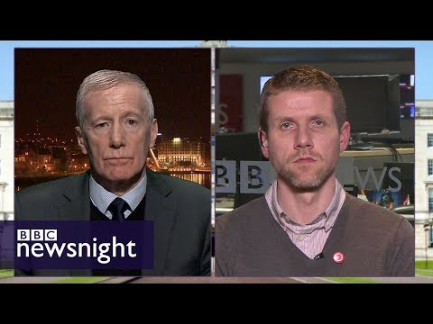 Why is an Irish Language act a stumbling block at Stormont? - BBC Newsnight