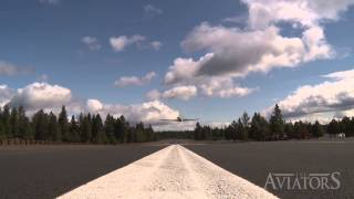 Aviators QUICK CLIP: VERY fast low overhead pass