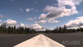 Aviators QUICK CLIP: VERY fast low overhead pass