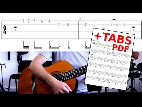 Tiago - Kendji Girac (tuto Guitare Complet +solo)