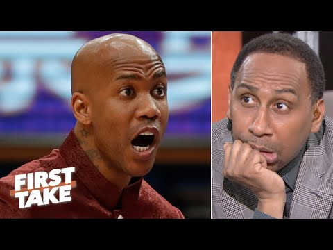 Stephen A. responds to Stephon Marbury saying LeBron isn't 'a real Laker' | First Take