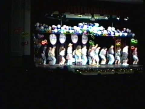stamford high fashion show tush push 1994 dance