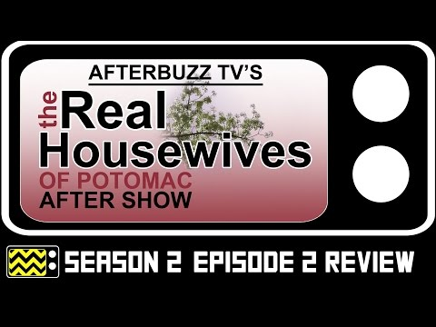 Real Housewives Of Potomac Season 2 Episode 2 Review & After Show | AfterBuzz TV
