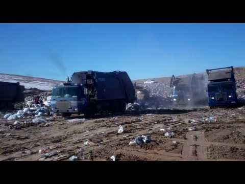 Dumping at CABQ Solid Waste Landill