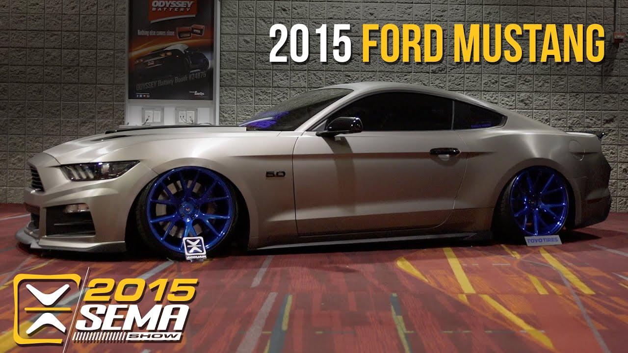 SEMA 2015 Ford Mustang