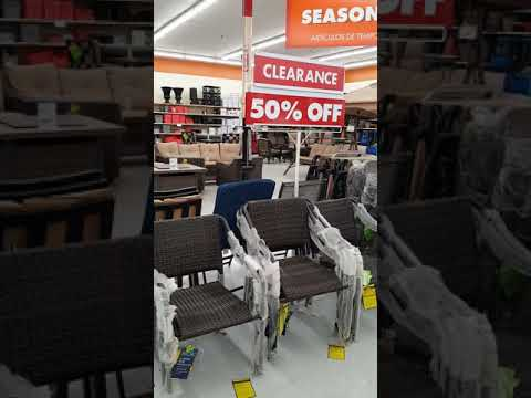 Big Lots Clearance 🛍 Patio Chairs and Tables