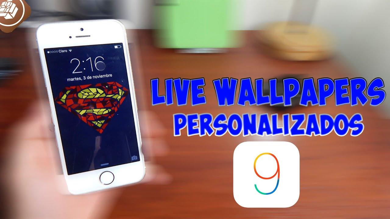 Live Wallpaper For Ipad Mini: COMO PONER LIVE WALLPAPERS PERSONALIZADOS IOS 9 PARA