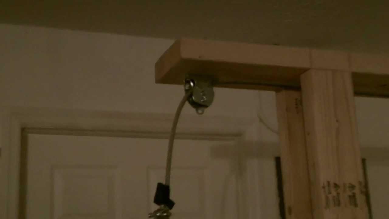 homemade lat pulldown machine - YouTube