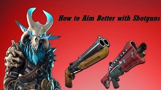 Fortnite Mobile how to aim better with a shotgun