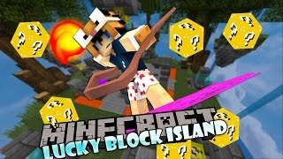 Minecraft: ĐỦ LOẠI GẬY PHÉP , GẬY TÀNG HÌNH ..l Lucky Block Island