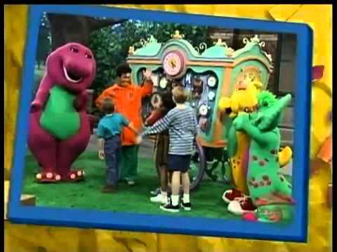 Barney Says Segment (Tick Tock Clocks!)
