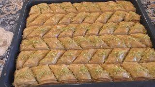 Вкусный турецкий пахлава.