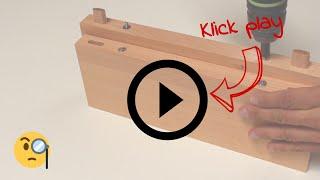 Unsichtbar magnetische Möbelverbindung