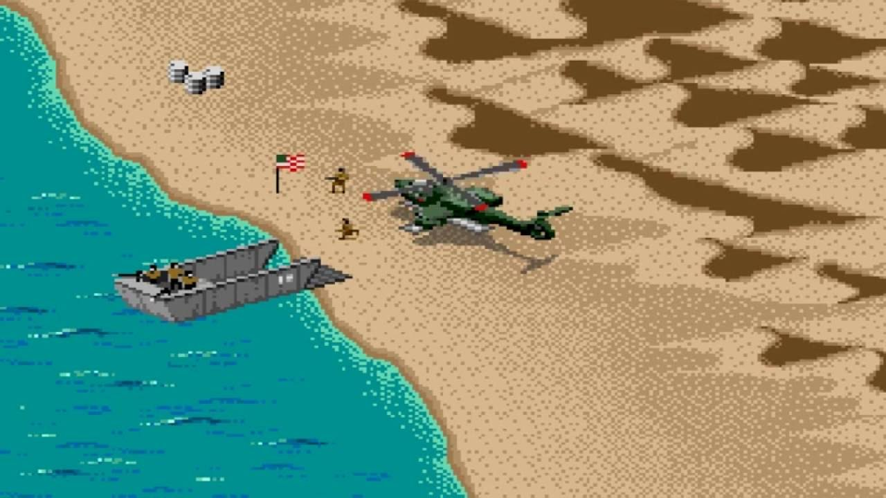 Desert Strike Return To The Gulf Snes Gameplay Of Mission 1 2 3