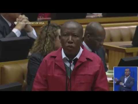 EFF walks out of Parliament, calls President Jacob Zuma a criminal