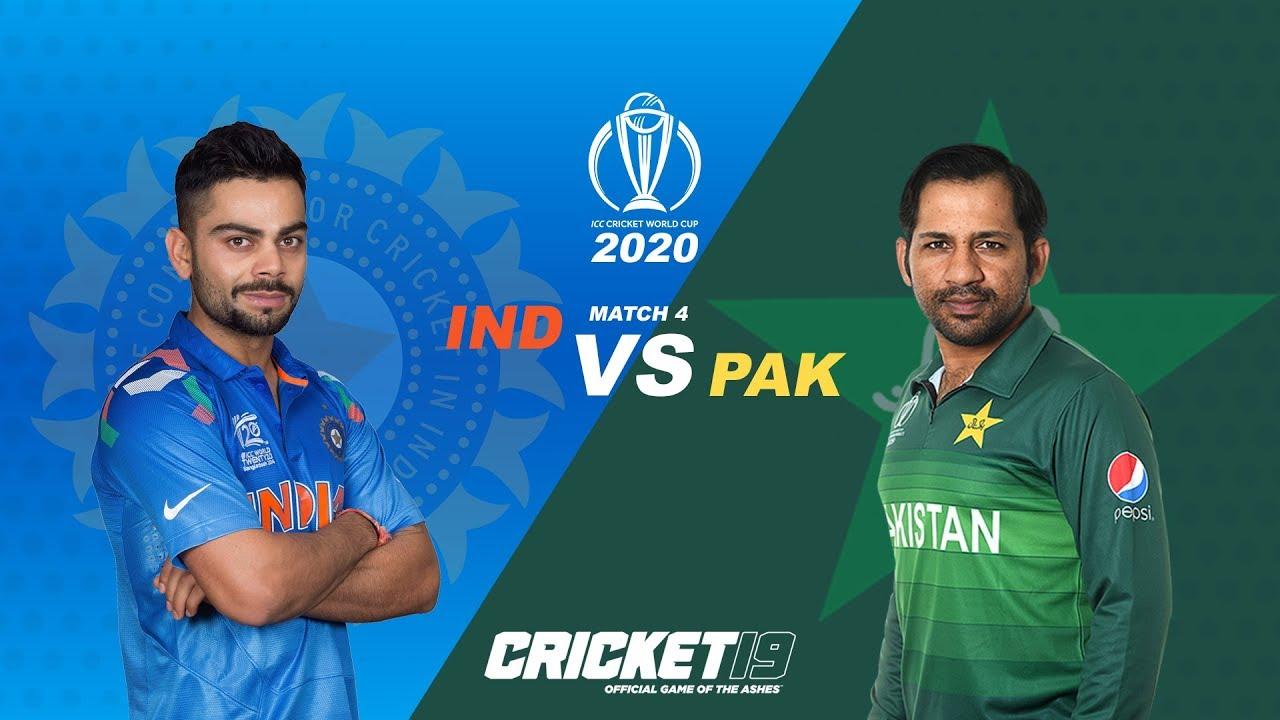 Cricket 19 WC 2020 India VS Pakistan MATCH 4 | Tamil GamePlay
