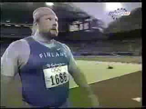 Arsi Harju - Olympic Gold Medalist - YouTube