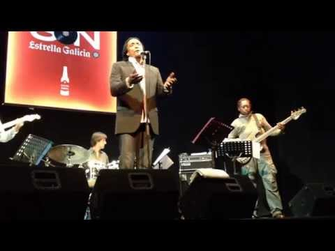 Stones Project - Wild Horses - Teatro Lara, Madrid 2014 Bernard Fowler, Tim Ries and Darryl Jones