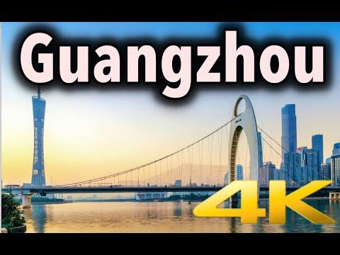 Guangzhou China Virtual Walking Tour 4K