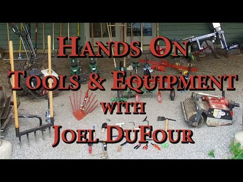 Hands On Tools & Equipment With Joel DuFour Part 1
