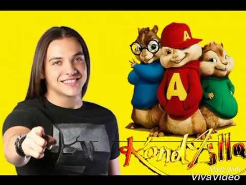 Fala aqui com a minha mão - Alvin e os esquilos