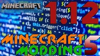 MINECRAFT MODDING 1.12 #5: Рецепты для верстака и печки.