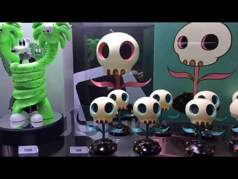 TOYSTV【2018上海國際潮流玩具展】Shanghai Toy Show D2 P4: 大豆芽水産 Pucky StayReal SFBI Toy Qube