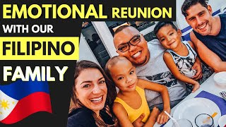 Meet our FILIPINO FAMILY  - emotional REUNION in Camarines N...