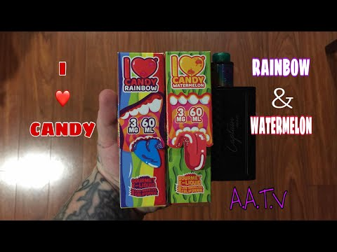 I Love Candy Watermelon & Rainbow Review. ( Mad Hatter )