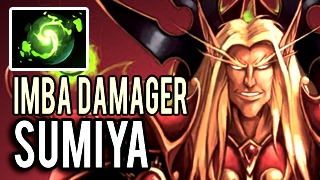 Top 1 MMR China Invoker is BACK! Full Item Imba Damager by Sumiya 7.02 Dota 2