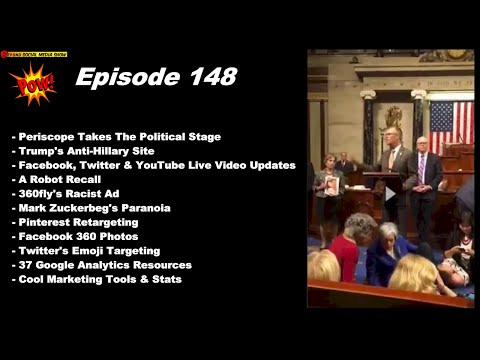 Periscope on the Political Stage, Live Streaming Everywhere! Beyond Social Media Show 148