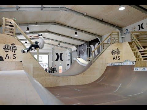 AIS Aerial Surf Skate Training Facility - Hurley Surfing Australia HPC