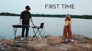FIRST TIME - Kygo & Ellie Goulding | Andrei Zevakin and Violeta Osula Cover