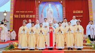 Giáo phận Hải Phòng hân hoan đón nhận 6 tân linh mục (8-12-2017)