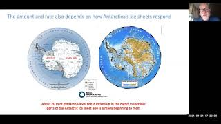 Ice Sheets, Sea-Level Rise and Overshoot - Tim Naish Presentation - 50x30 Launch