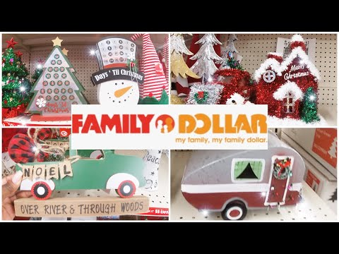 Family Dollar Christmas 2020  🎄 Holiday Edition Shop With Me