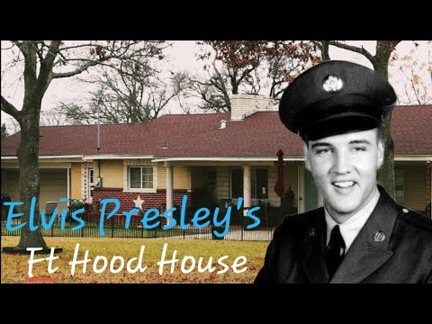 1224 ELVIS PRESLEY Fort Hood House, Military Service, & Waco Hang Outs EDDIE FADAL House (1/8/20)