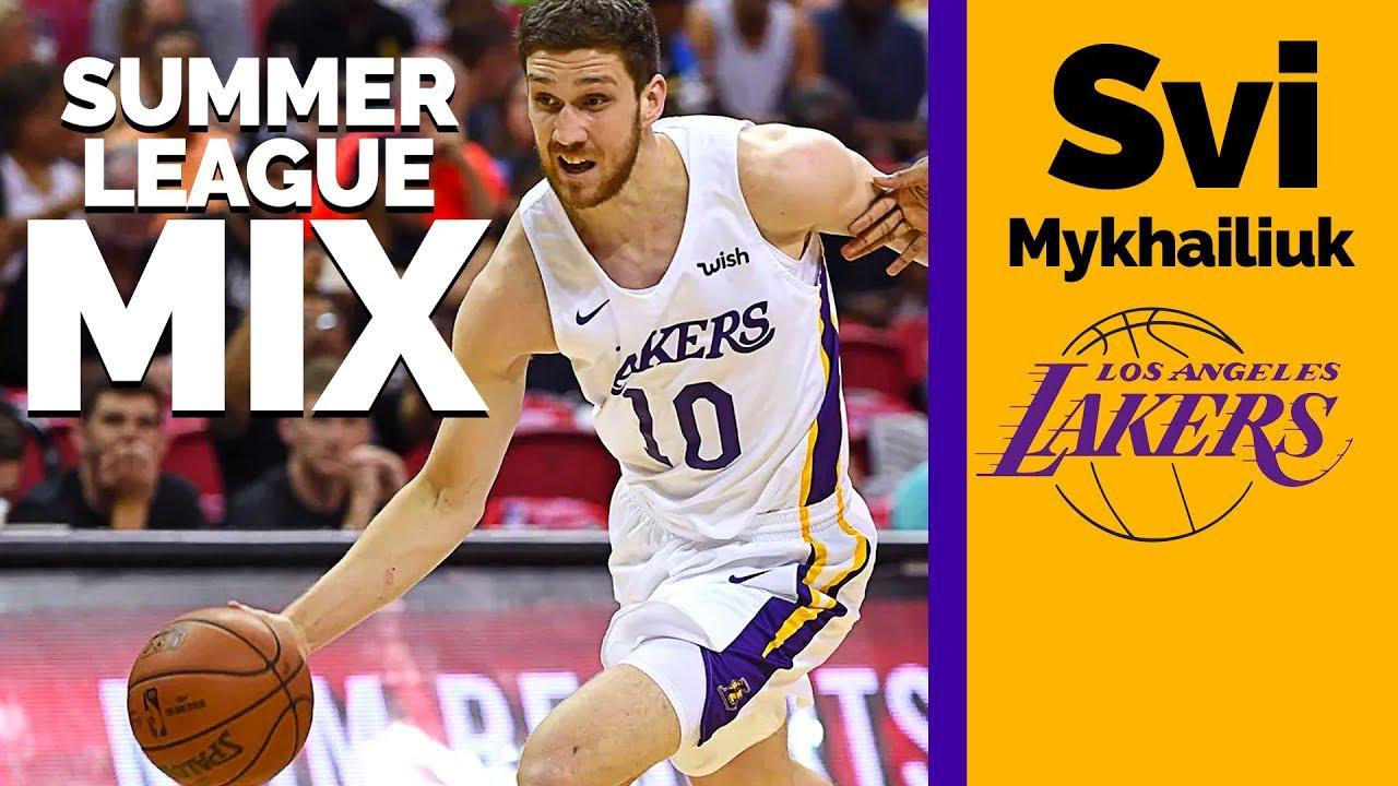 1371a94d2 Svi Mykhailiuk Gets Buckets in NBA Summer League Mix and Highlights