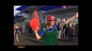 1130 волонтёров задействовано на Кубке Конфедераций в Сочи