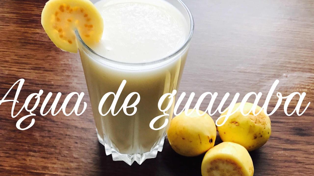 Leche guayaba preparar agua como de con