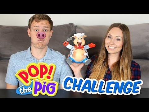 ВЗОРВИ ПОРОСЕНКА ЧЕЛЛЕНДЖ! // POP THE PIG CHALLENGE